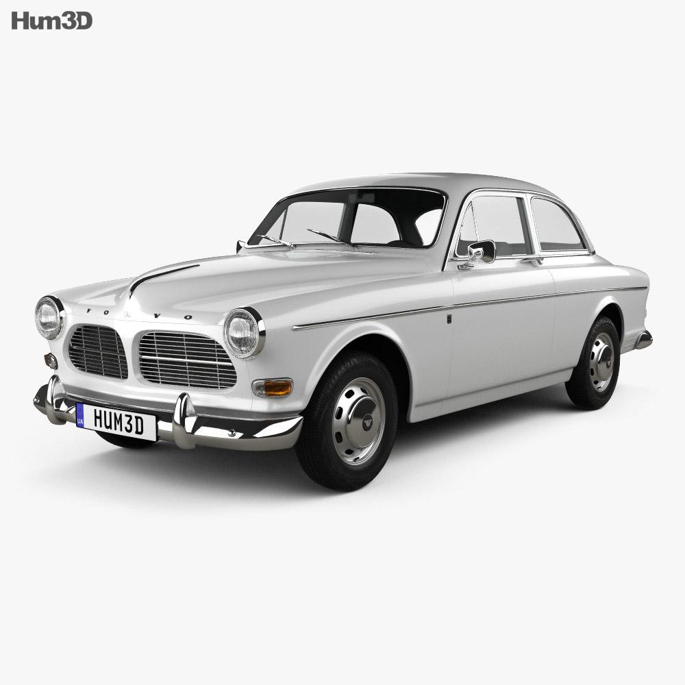 Volvo Amazon coupe 1961 3d model