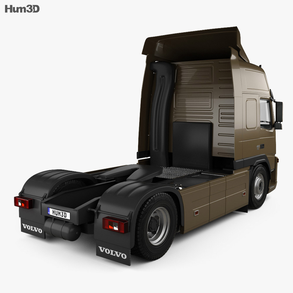 Volvo FM Tractor 2010 3d model
