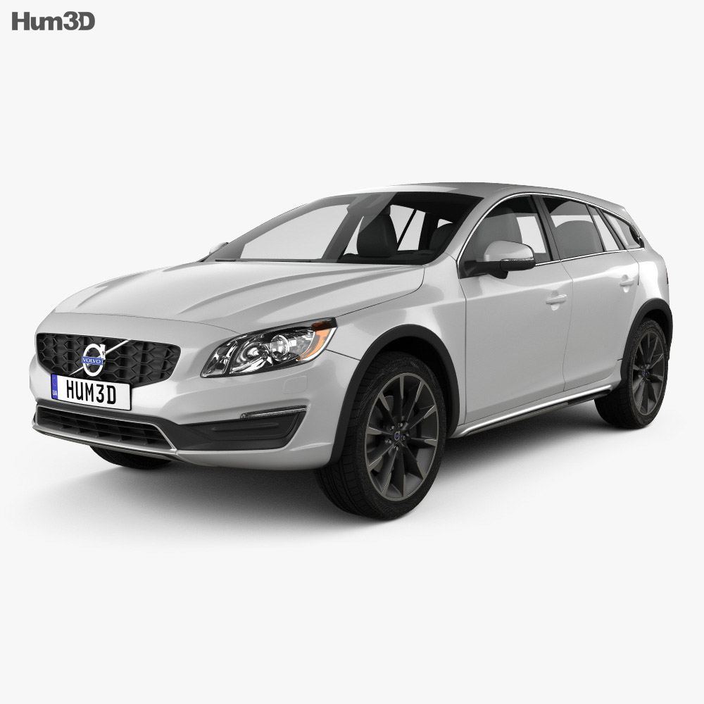 Volvo V60 D4 Cross Country 2015 3d model