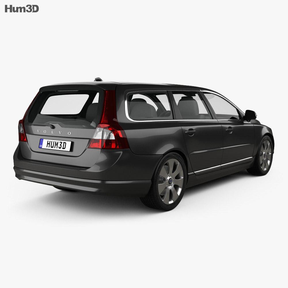 Volvo V70 2011 3d model