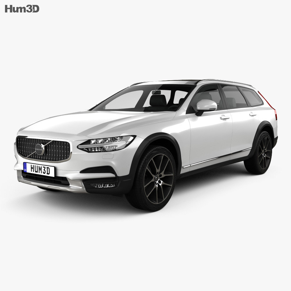 Volvo V90 T6 Cross Country 2016 3d model