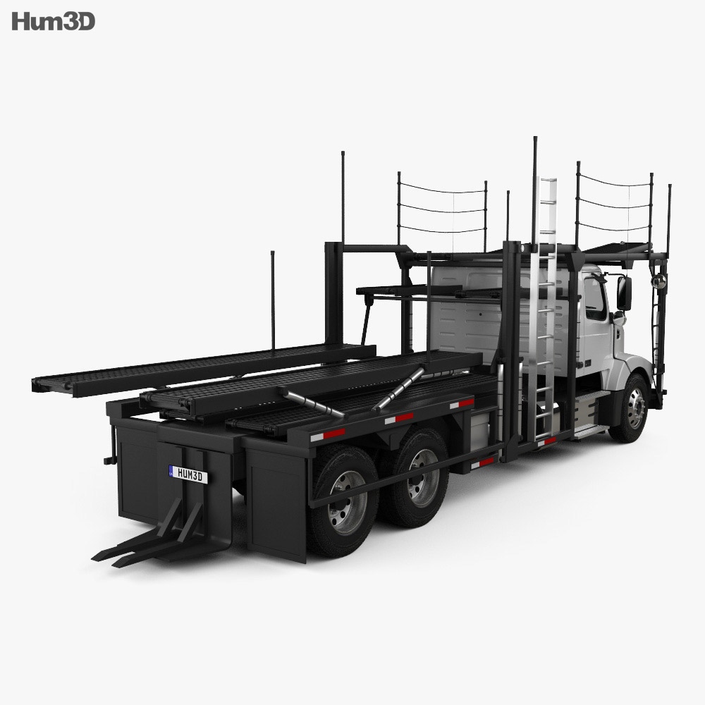 Volvo VAH (200) Car Carrier Truck 2015 3d model
