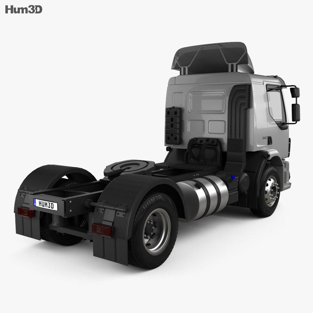 Volvo Vm 330 Tractor Truck 3-axle 2014 3d Model