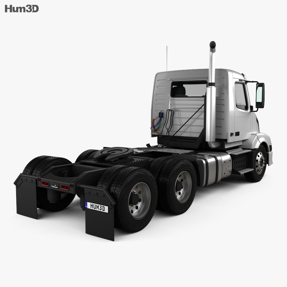 Volvo VNL (300) Tractor Truck 2011 3d model