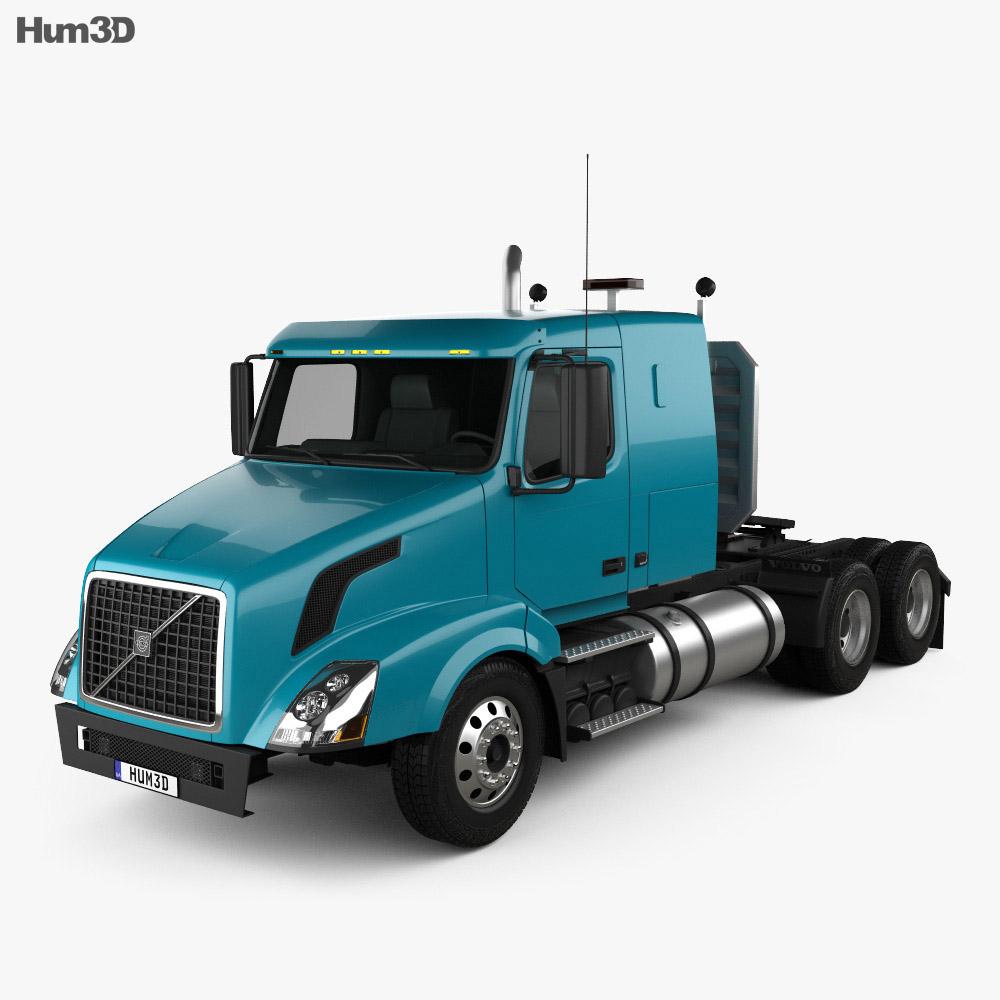 Volvo VNL (430) Tractor Truck 2011 3d model