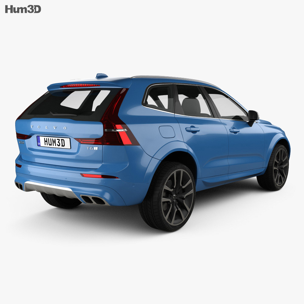 Discount Car Parts >> Volvo XC60 R-Design 2017 3D model - Hum3D