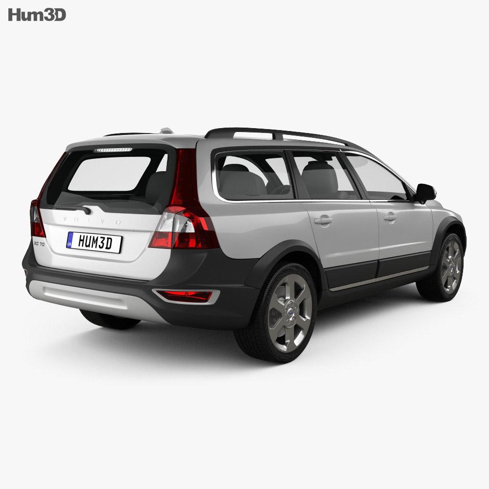 Volvo XC70 2011 3d model