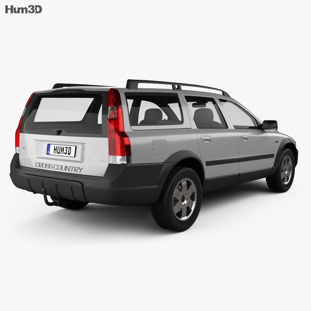 Volvo XC70 2002 3D model - Hum3D