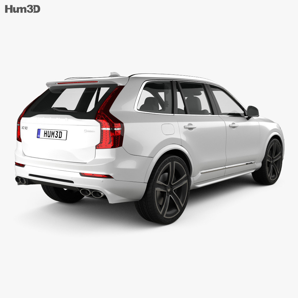 volvo xc90 heico 2016 3d model hum3d. Black Bedroom Furniture Sets. Home Design Ideas