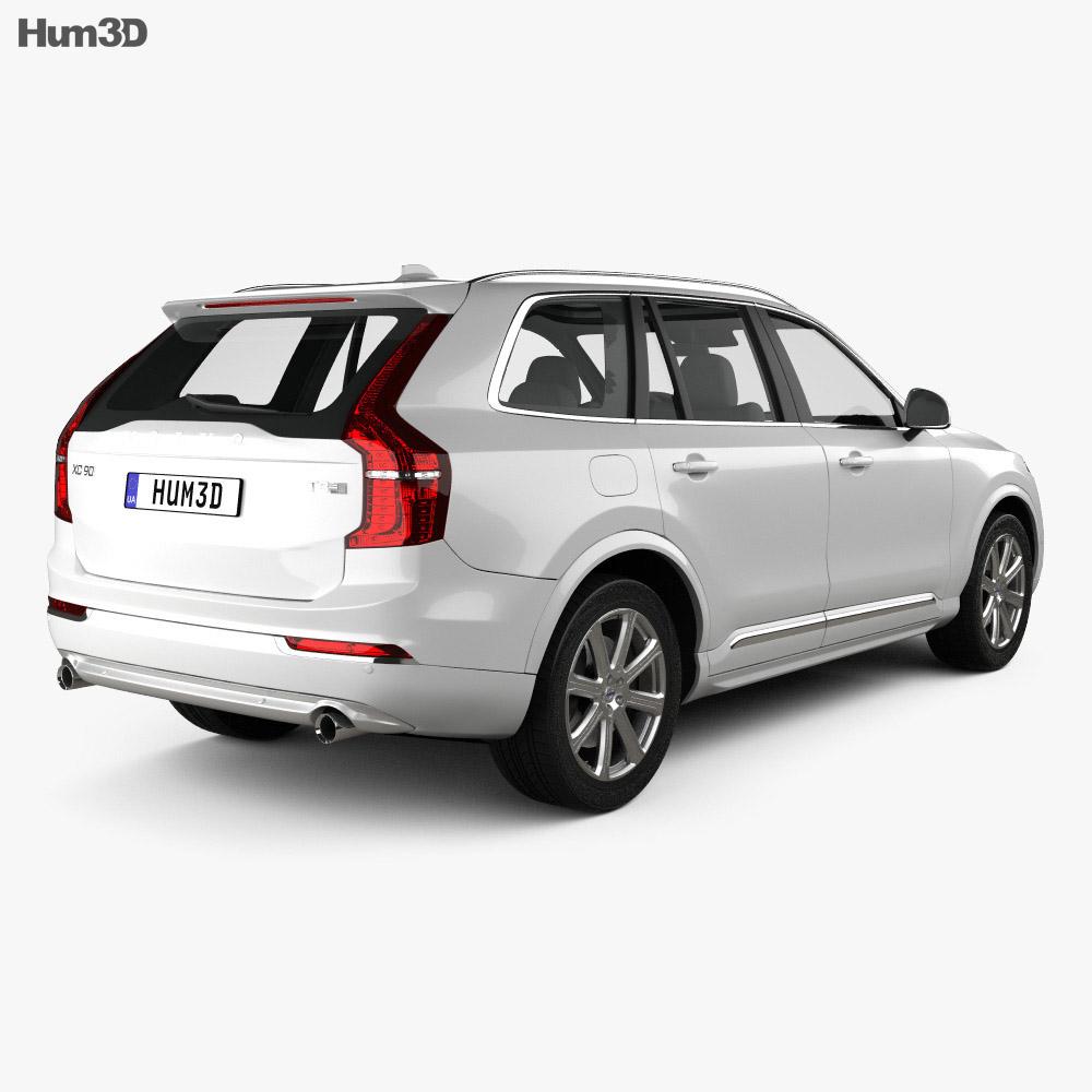 Volvo XC90 T8 2015 3d model