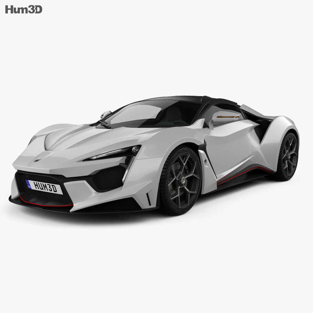 W Motors Fenyr Supersport 2016 3d Model Hum3d