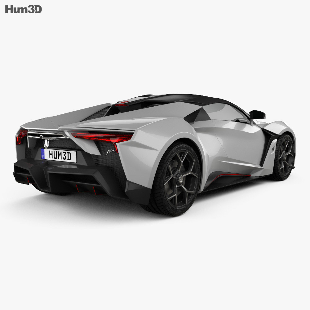 W Motors Fenyr SuperSport 2016 3d model
