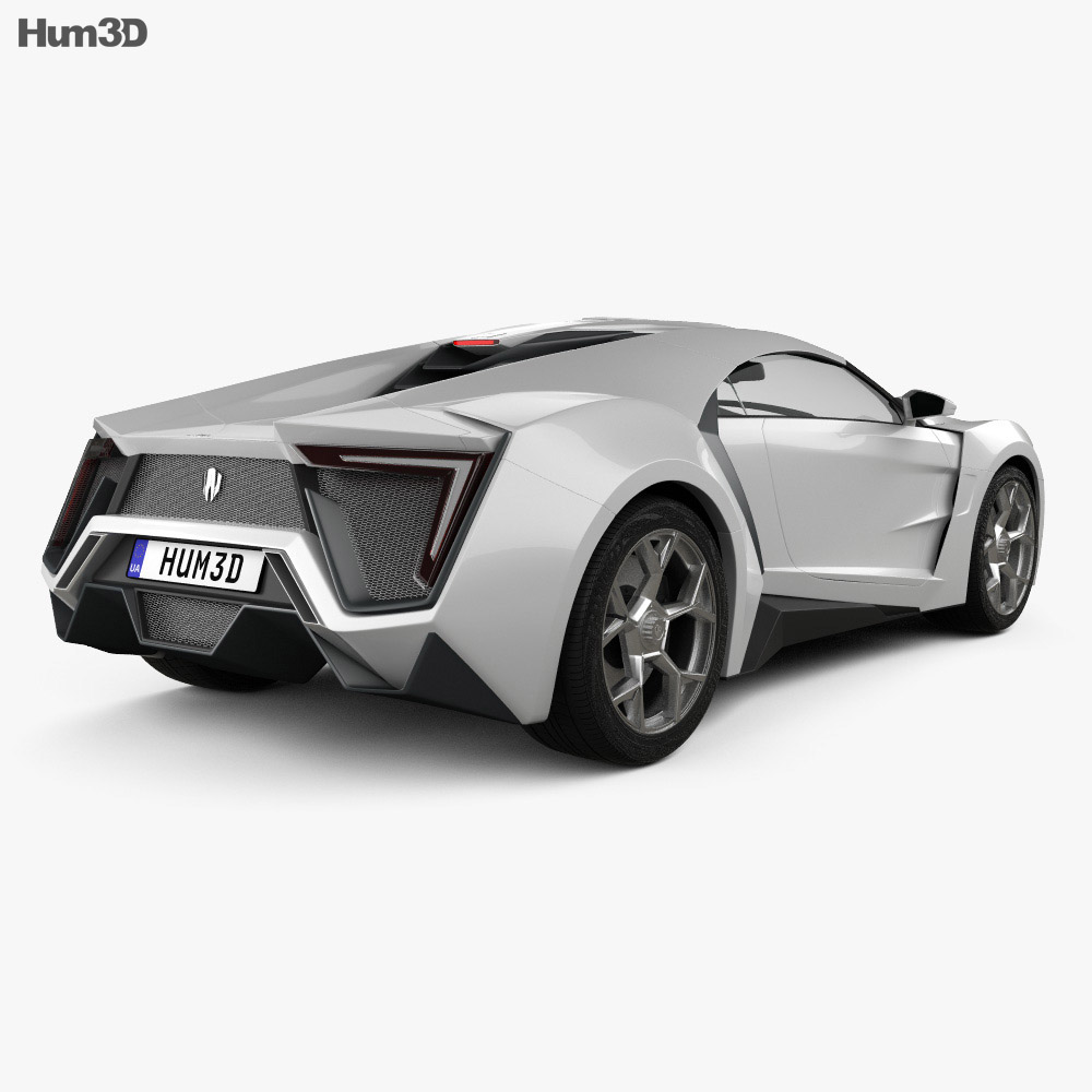 W Motors Lykan HyperSport 2012 3d model