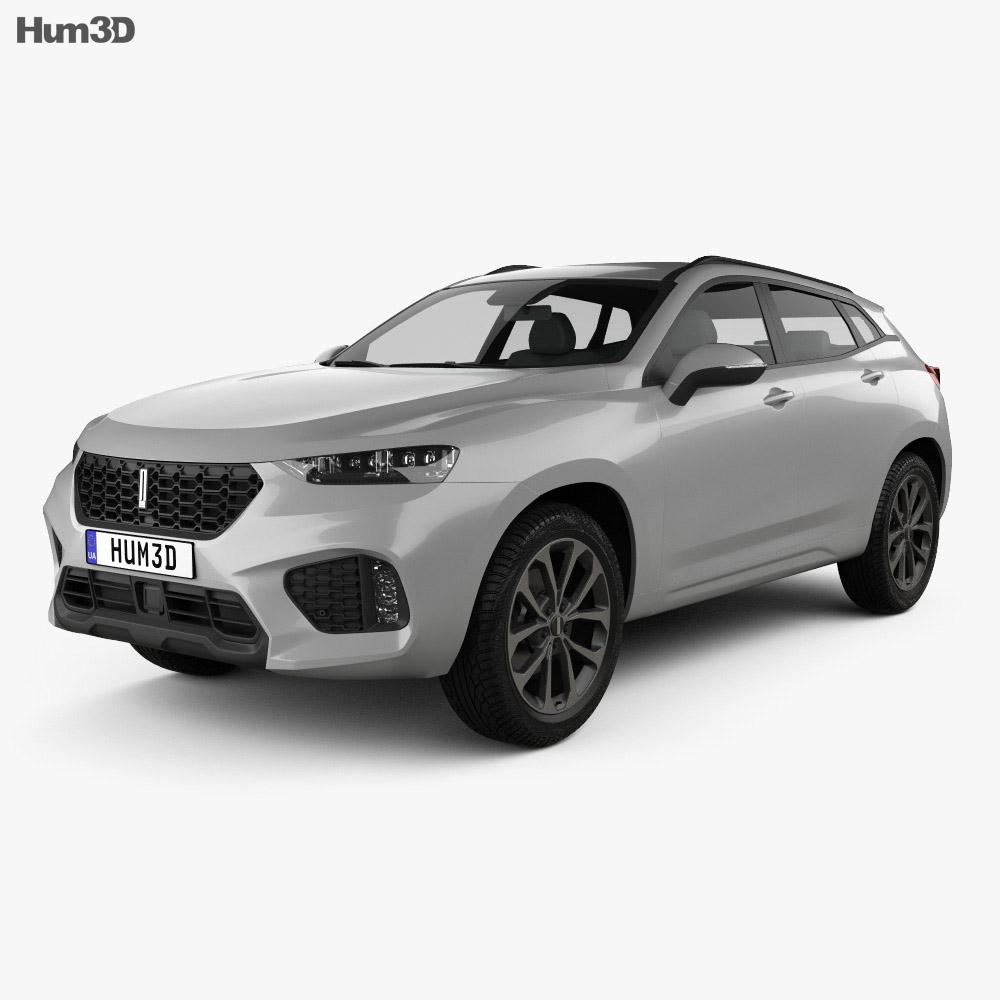WEY VV7 2018 3d model