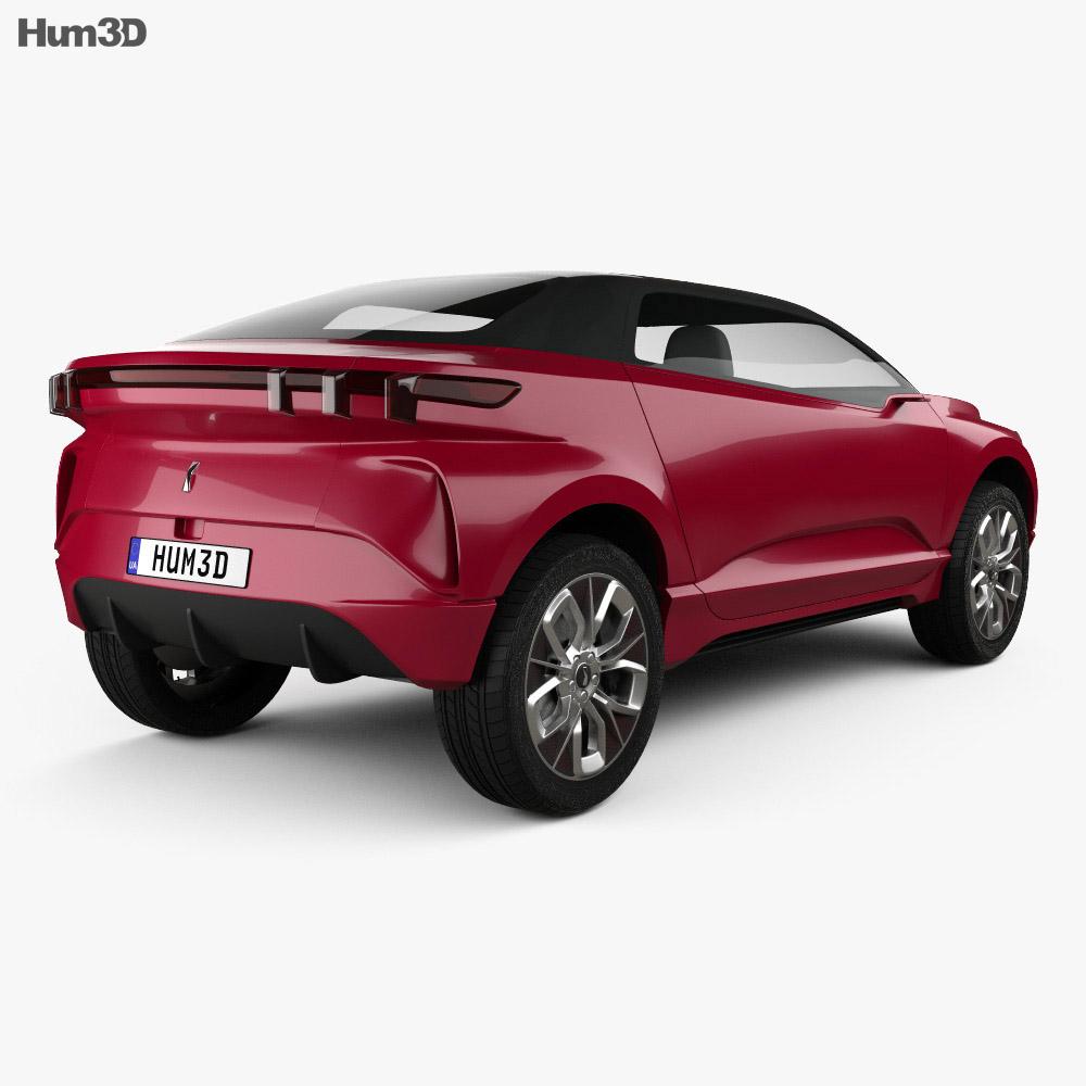 WEY XEV 2018 3d model