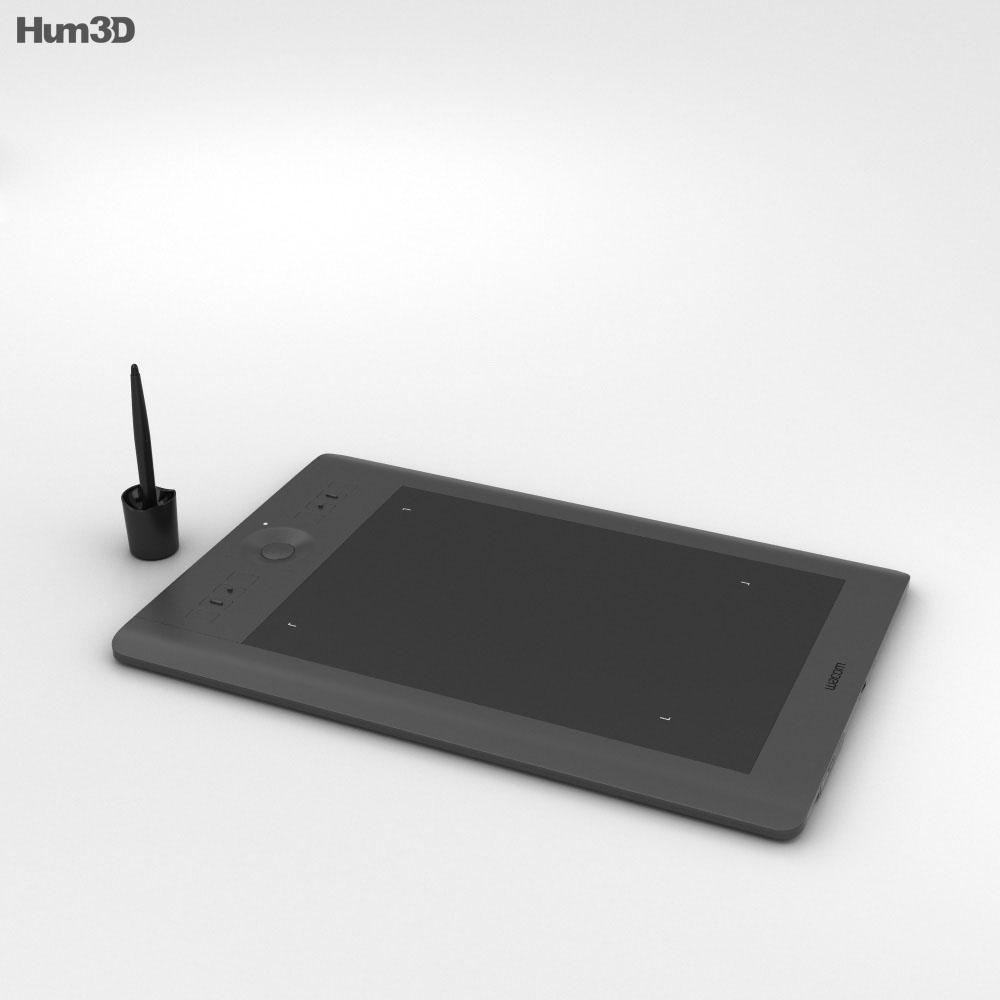 Wacom Intuos Pro Medium 3d model