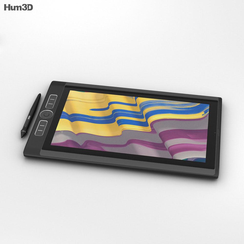 Wacom MobileStudio Pro 13 inch 3d model