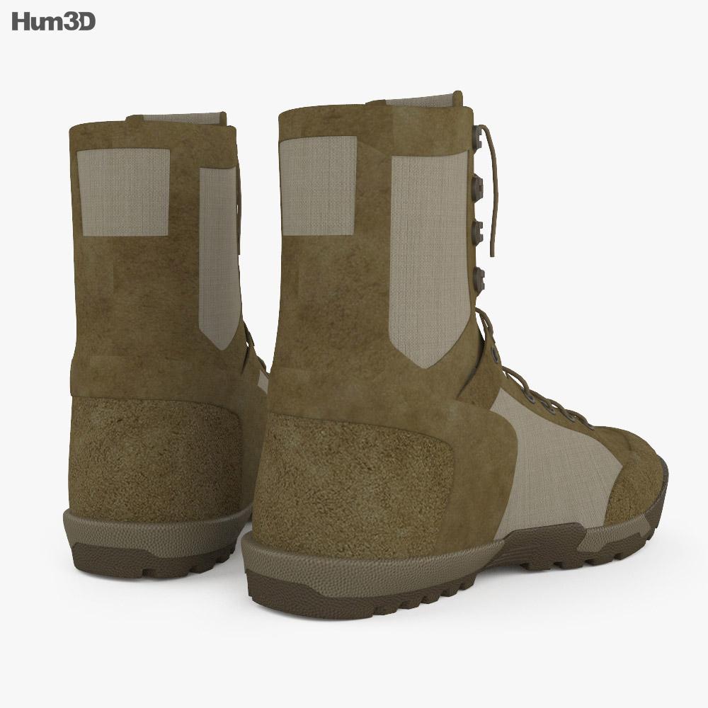 5.11 RECON Desert Boots 3d model