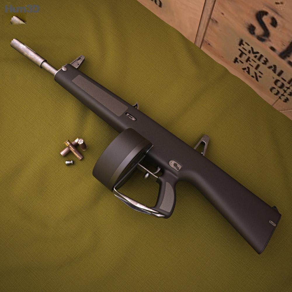 AA-12 3d model