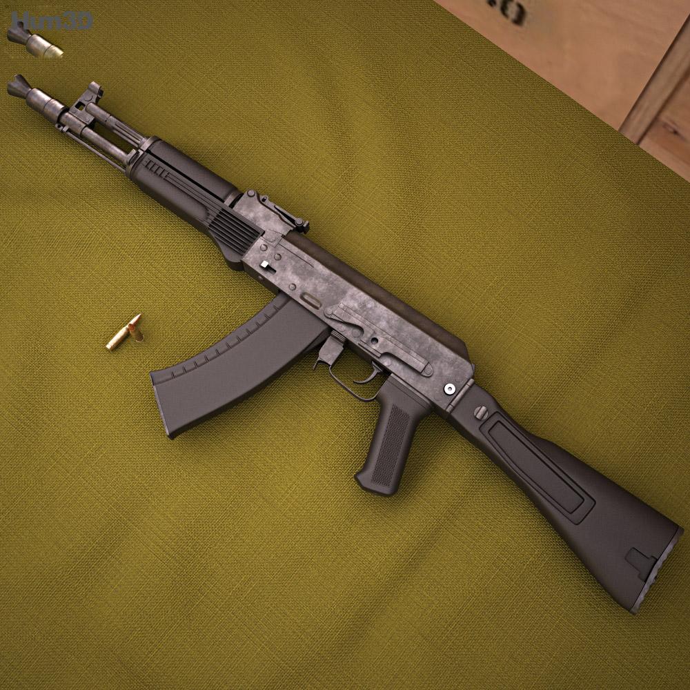 AK-105 3d model