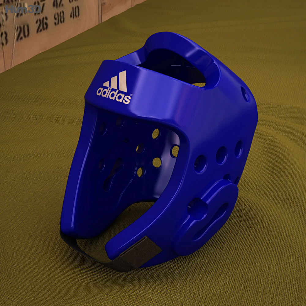 Adidas Taekwondo Head Gear 3d model