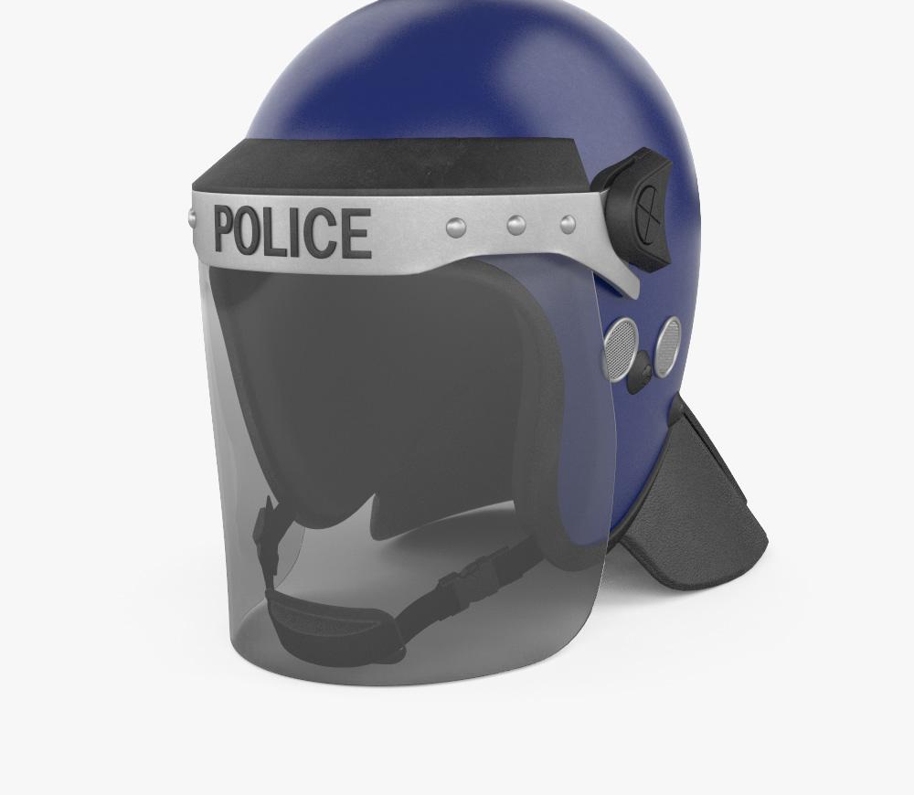 3D model of Argus APH05 Police Helmet