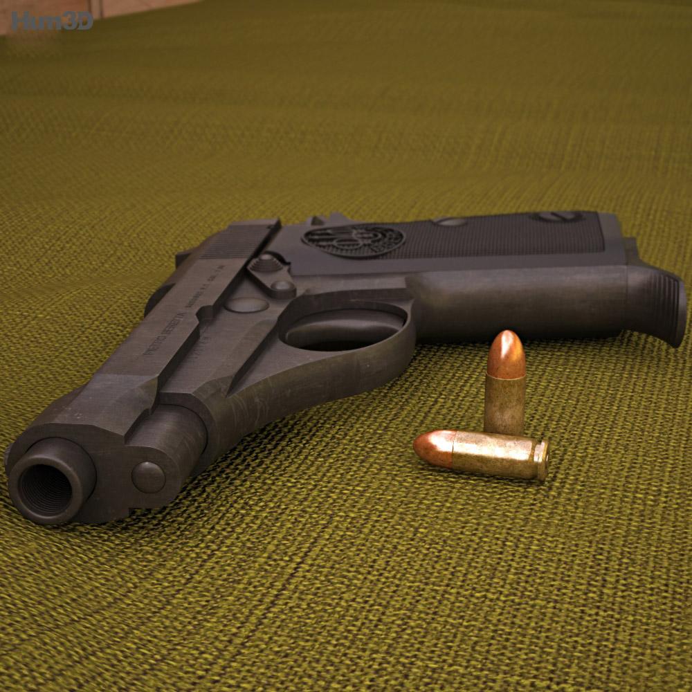 Beretta 70 3d model