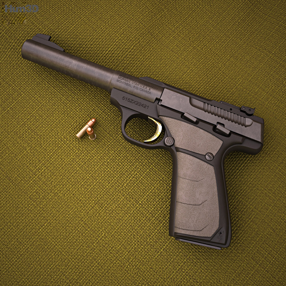 Browning Buck Mark 3d model