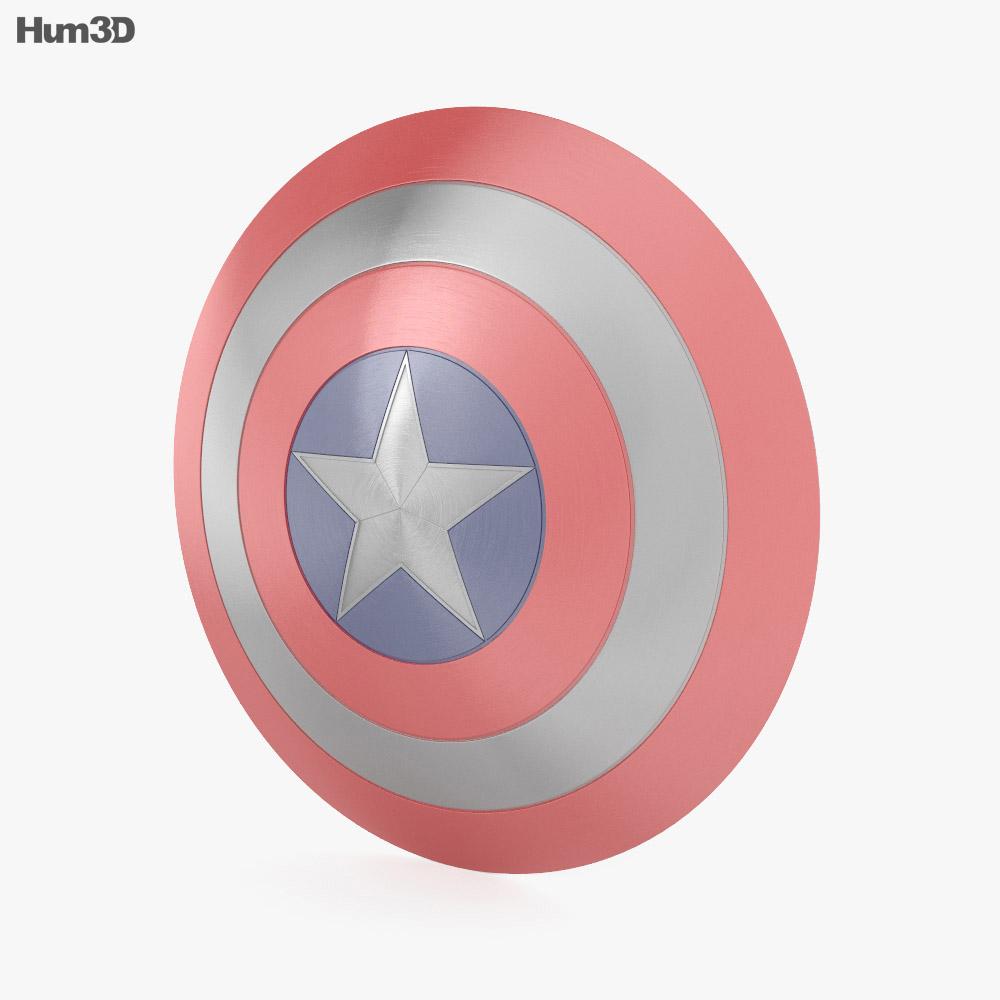 Captain America Shield 3d model