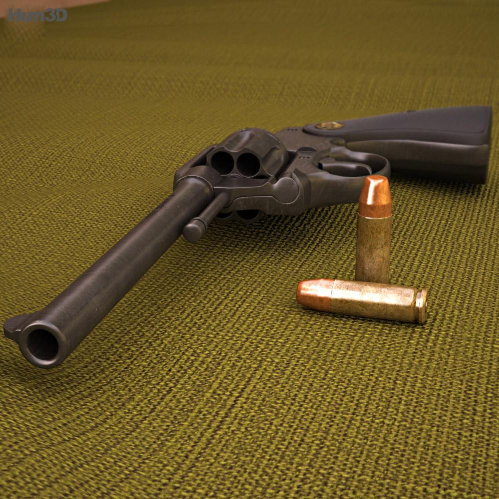 Colt Police Positive 3d model