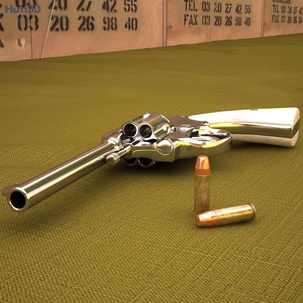 Colt Police Positive 5-inch 3d model