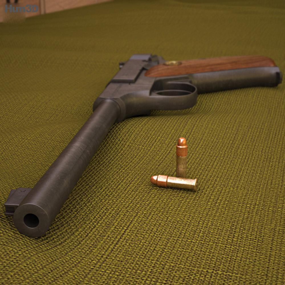 Colt Woodsman 3d model