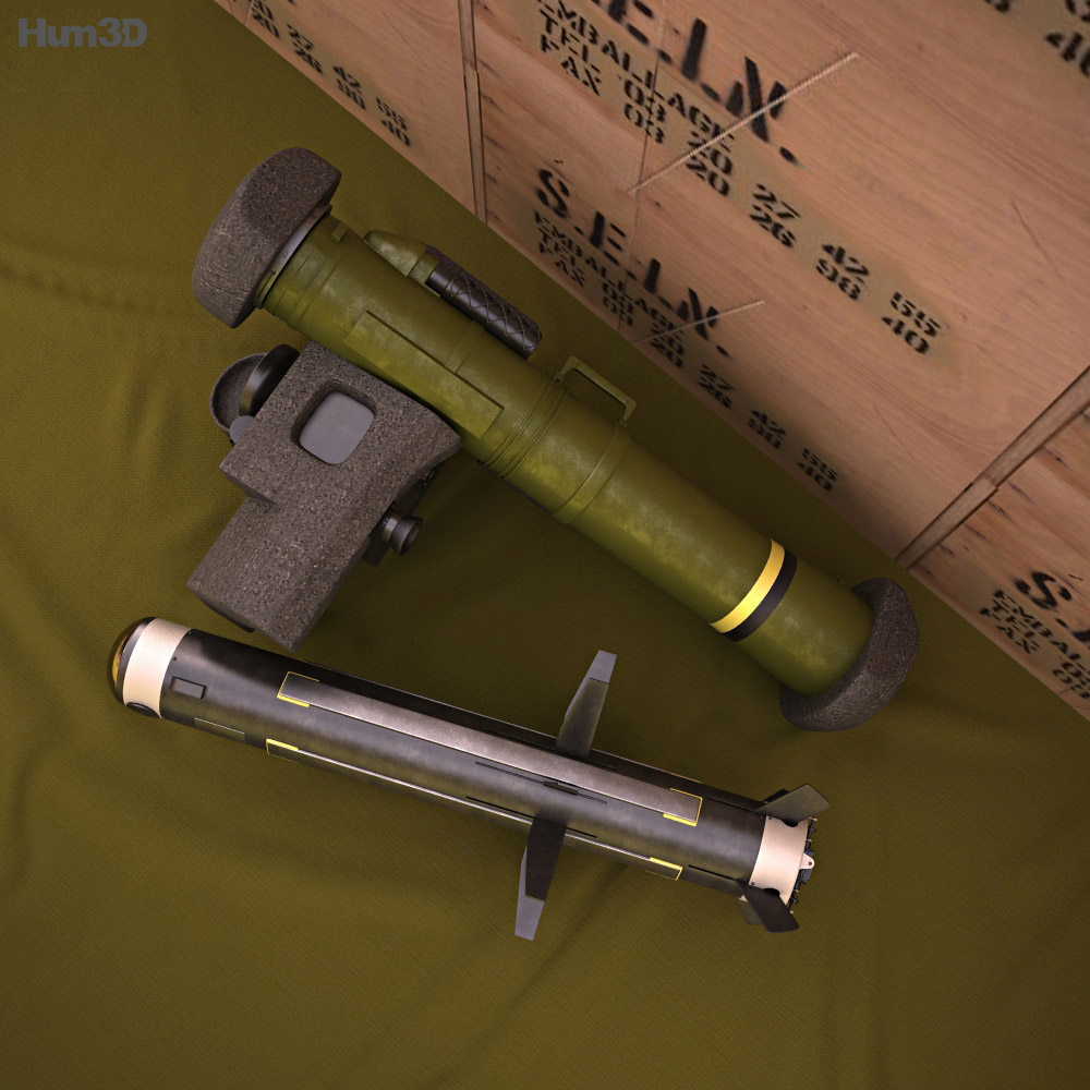 FGM-148 Javelin 3d model