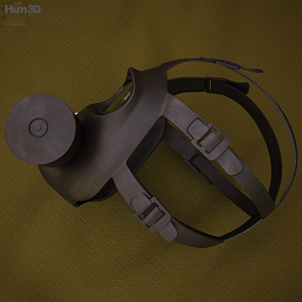 FG-1 Fire Mask 3d model