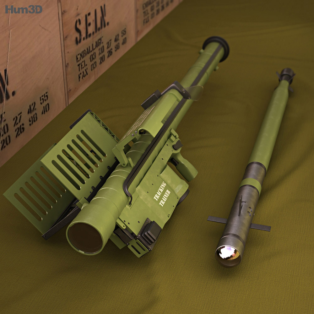 FIM-92 Stinger 3d model