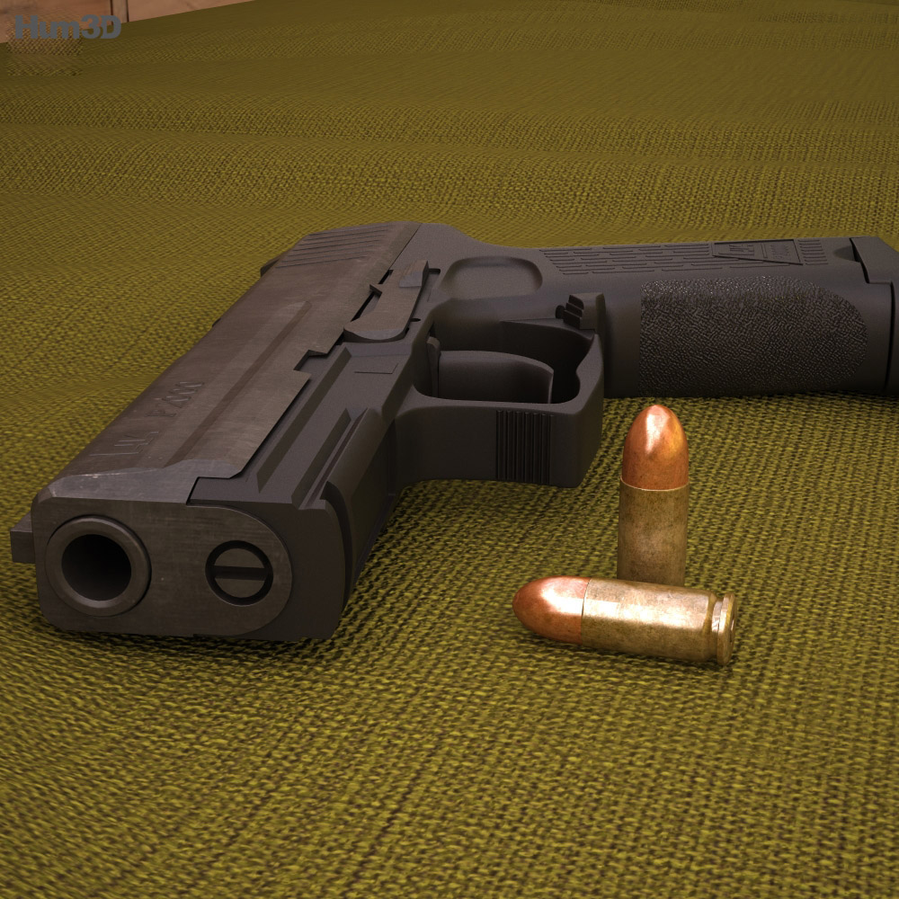 Heckler & Koch P2000 3d model