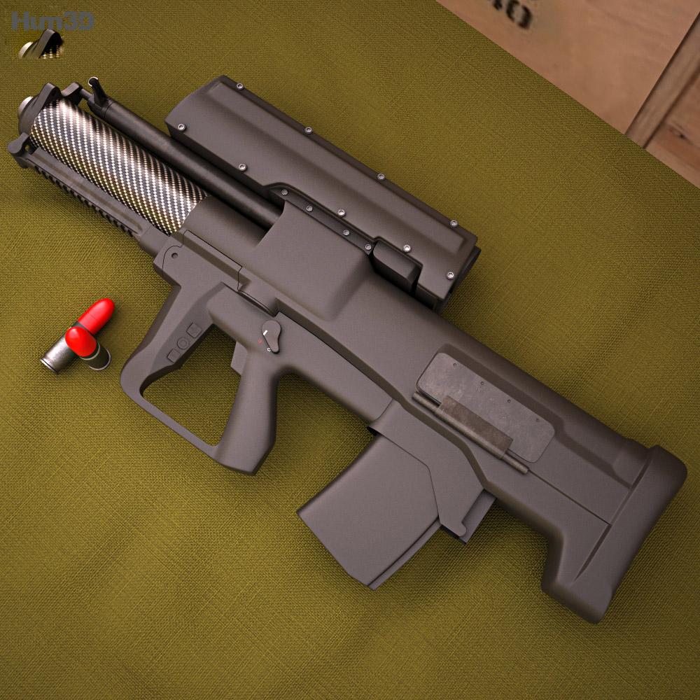 Heckler & Koch XM25 3d model