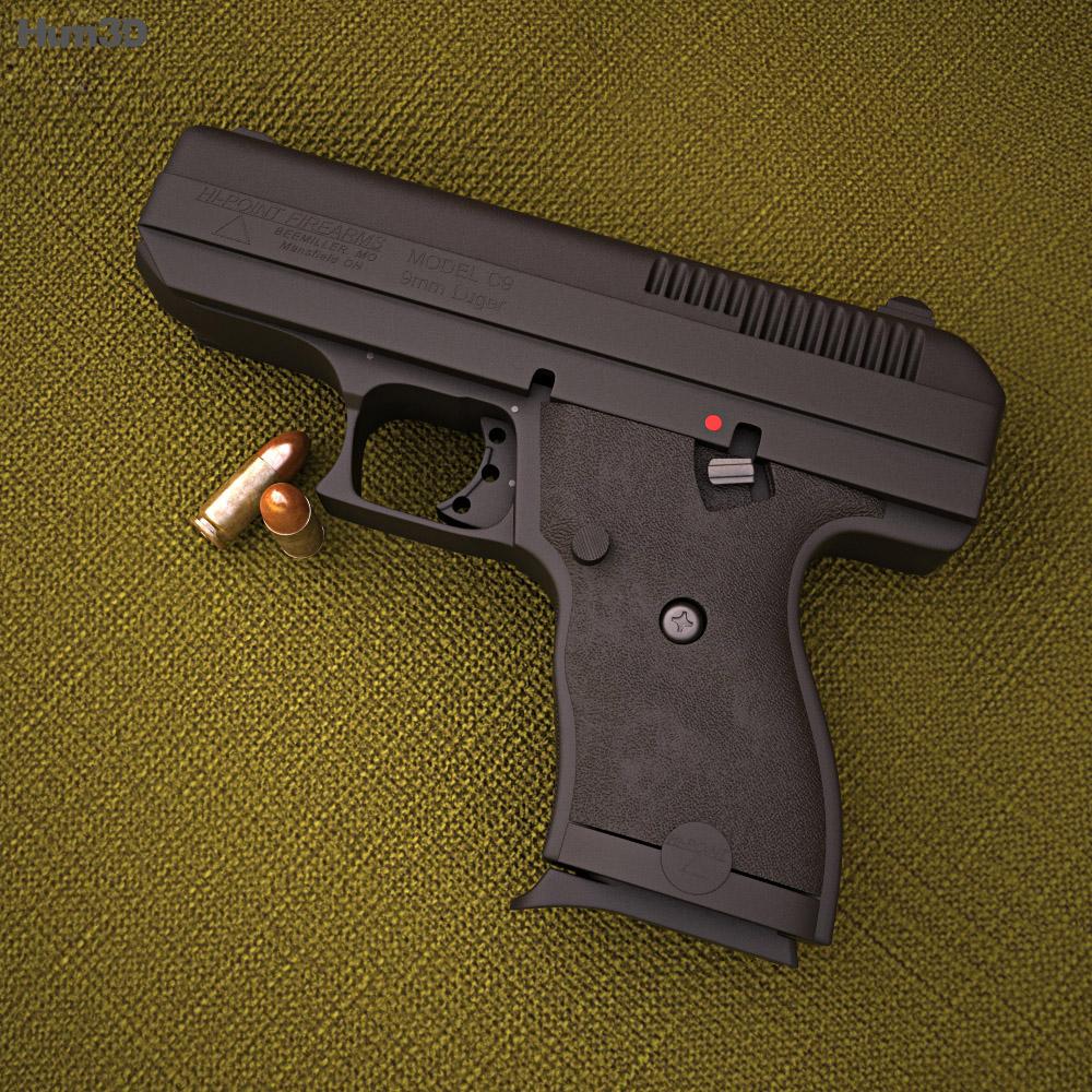 Hi-Point C-9 3d model