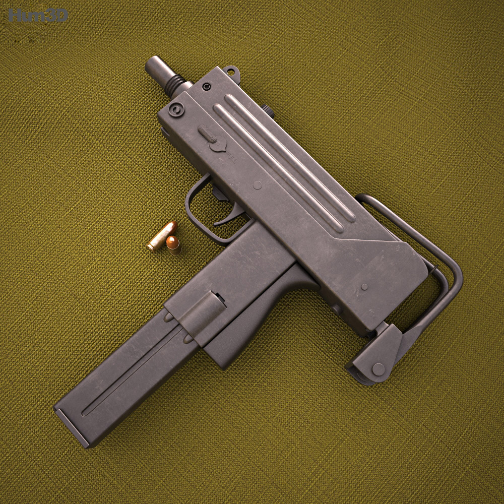 Ingram MAC-10 3d model