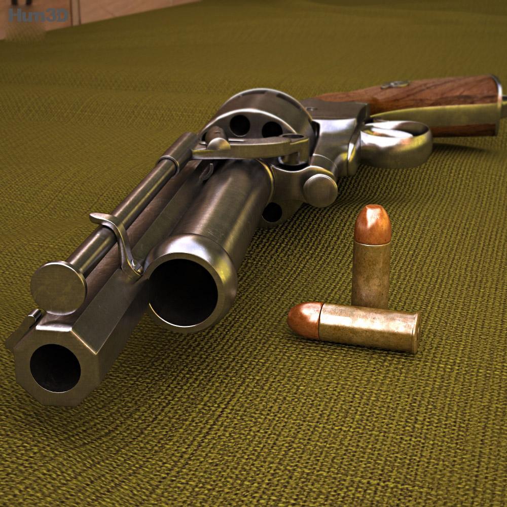 LeMat Revolver 3d model