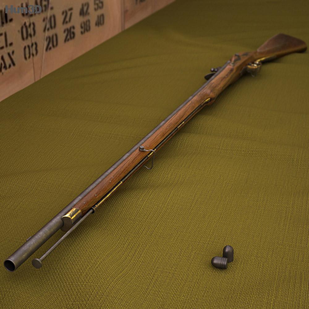 Brown Bess (Land Pattern Musket) 3D模型