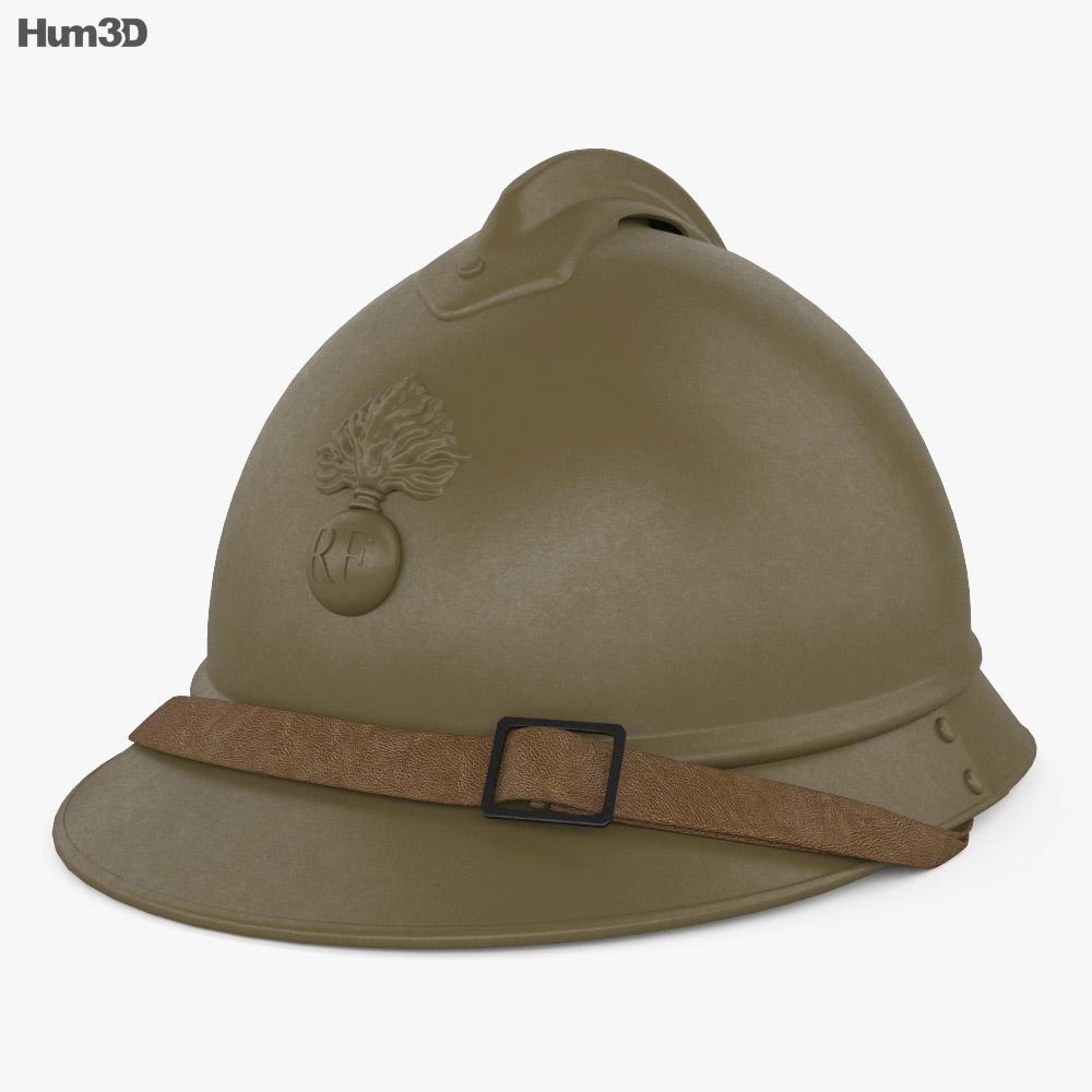 M15 Adrian helmet 3d model