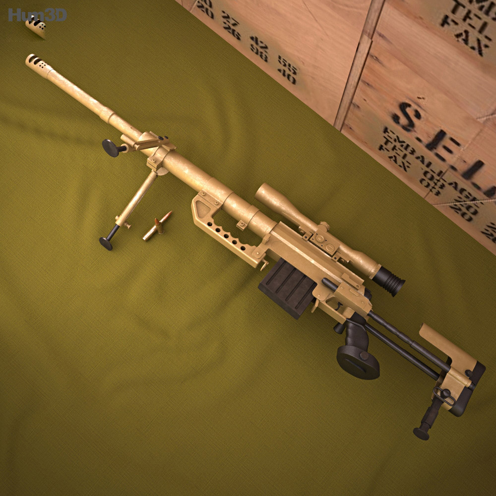 CheyTac Intervention M-200 3d model