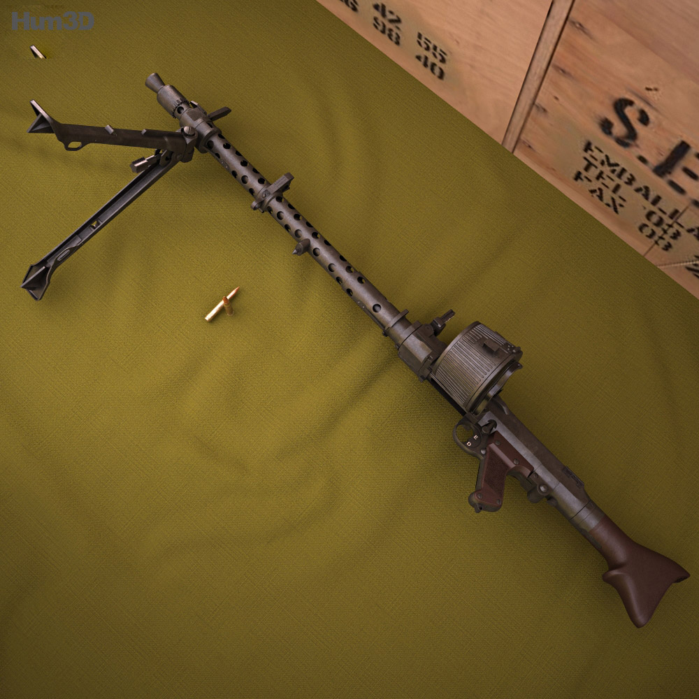 MG 34 3d model