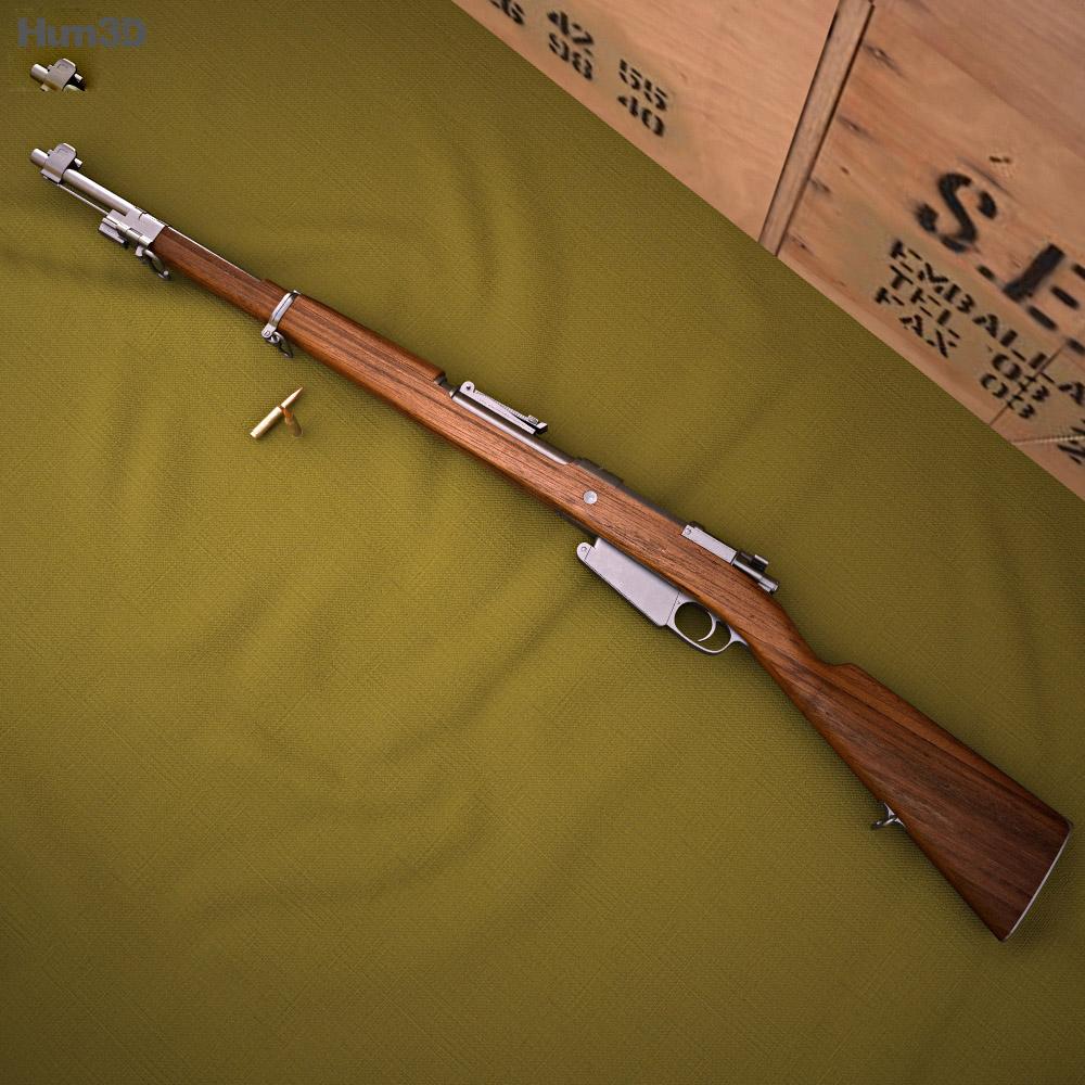3D model of Mauser Model 1889
