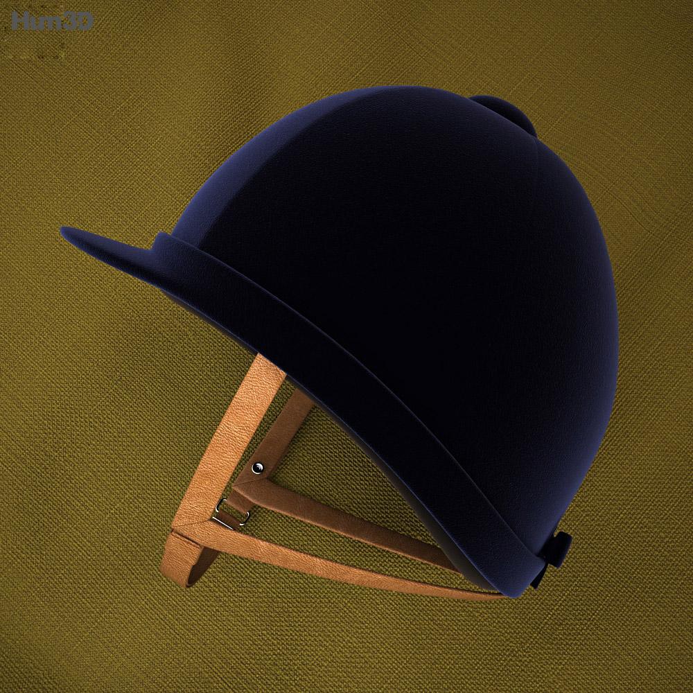 Riding Helmet 3d model