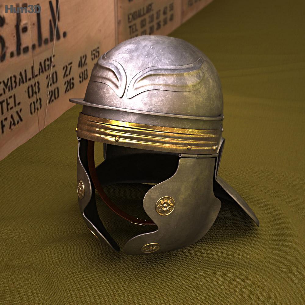 Roman Legionnaire Helmet 3d model