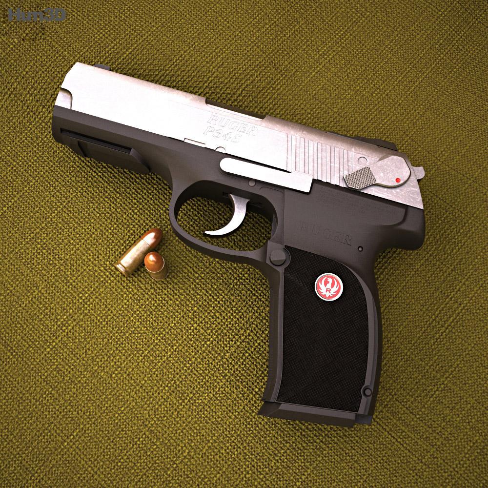 Ruger P345 3d model