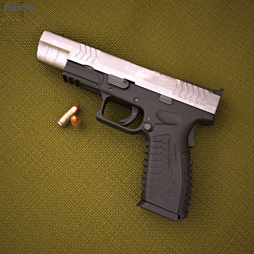 Springfield Armory XDM Competition 3d model