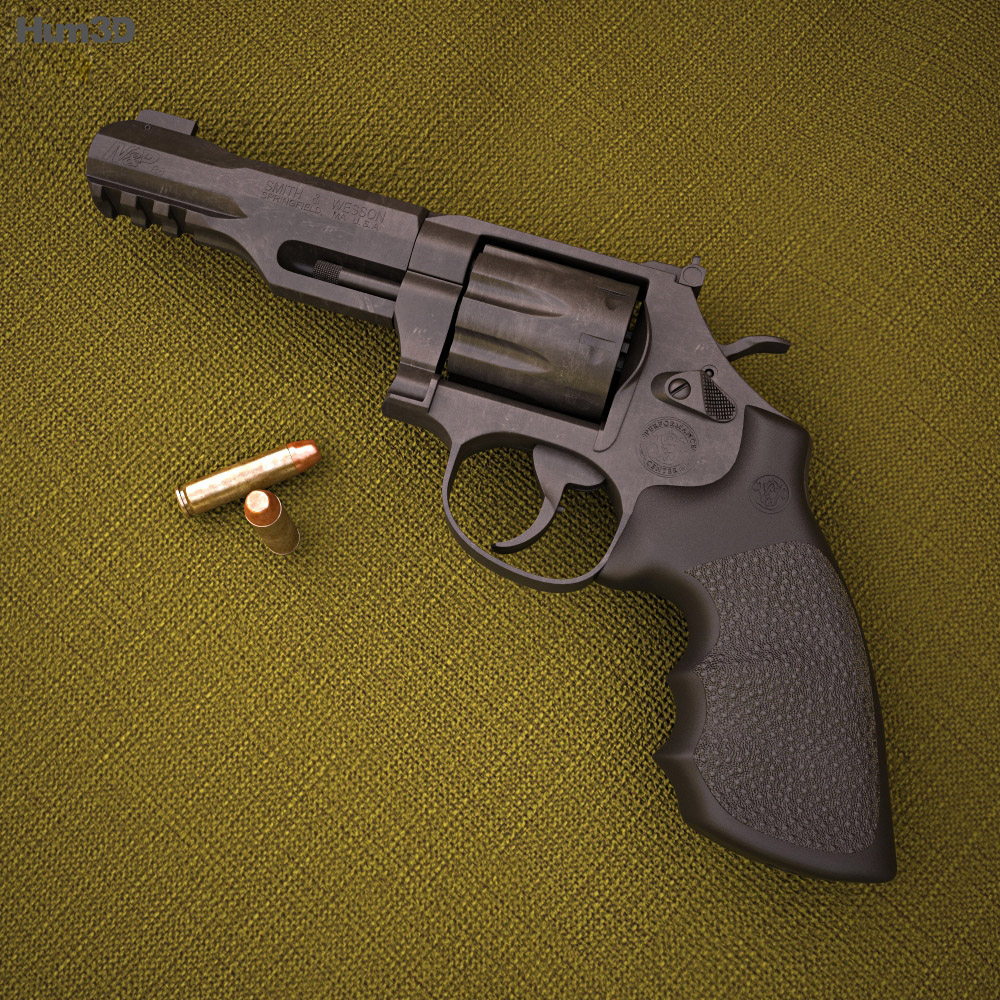 Smith & Wesson Model M&P R8 3d model